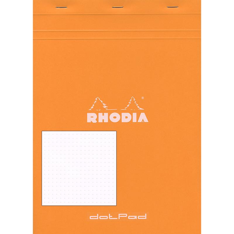 Rhodia Dot Grid Pad 8.25x11 inches