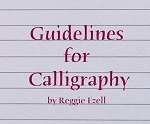 Envelope Guidelines Centering Rolling Ruler Calligraphy