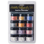 Pearl Ex Metallic Calligraphy Set w/ Gum Arabic