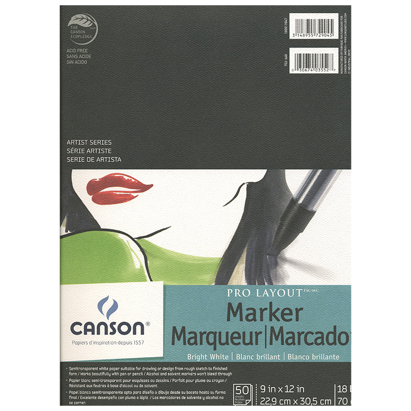 Canson Pro-Layout Marker Pad