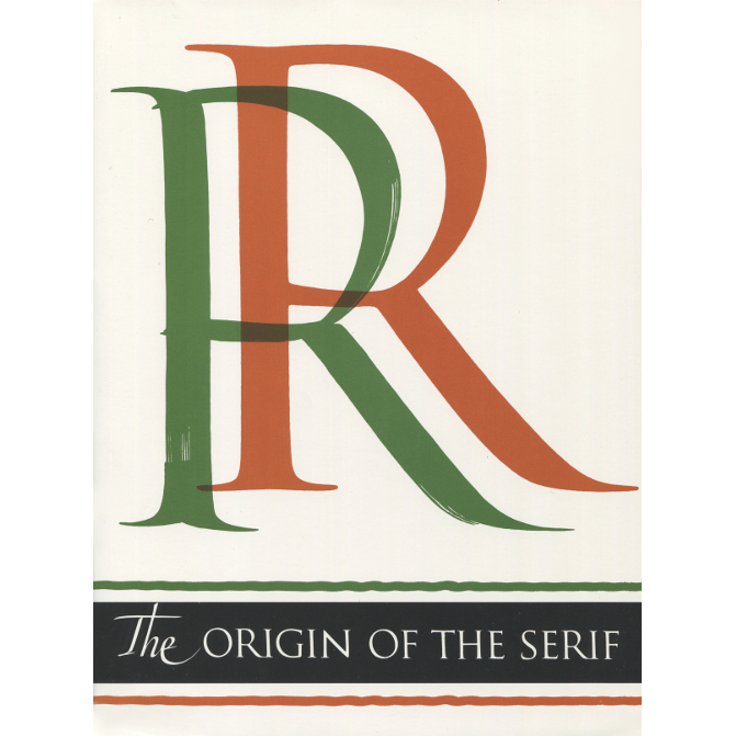 Origin of the Serif