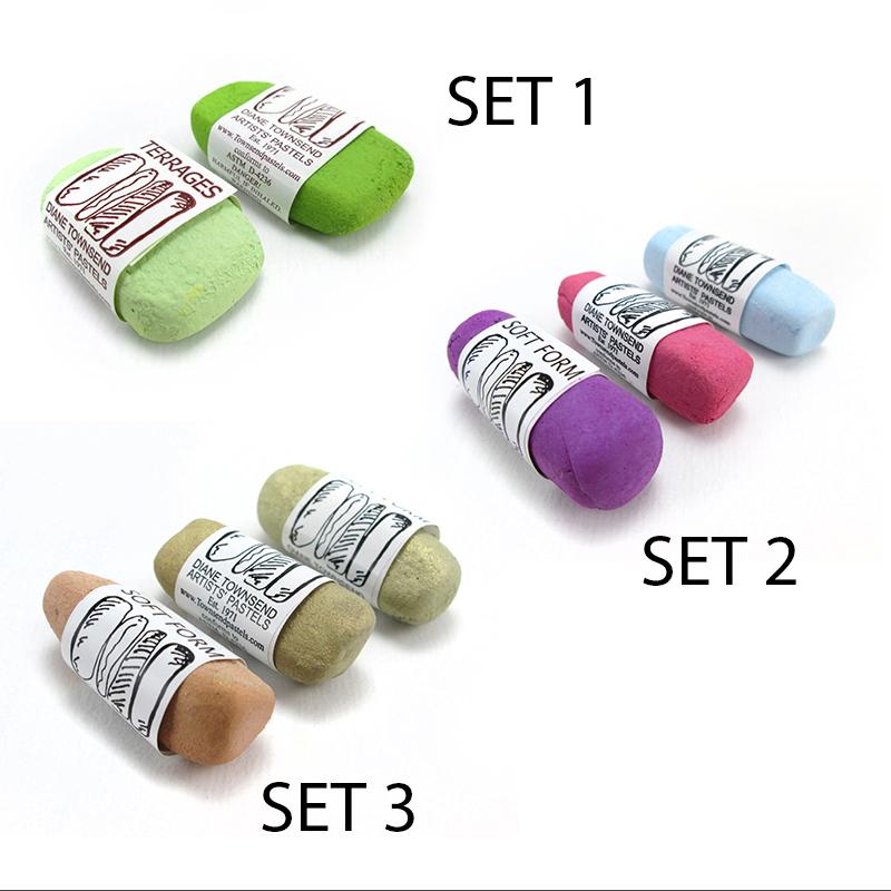 Townsend Pastel Embellishing Sets