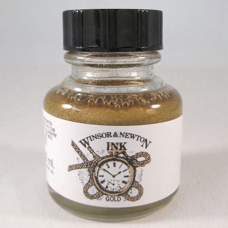 W&N Gold Drawing Ink