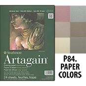 Strathmore Artagain Asstd Color Pad