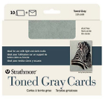 Strathmore Toned Gray Cards
