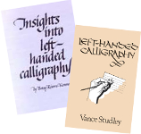 Left-Handed Calligraphy + Insights Into LH Calligraphy