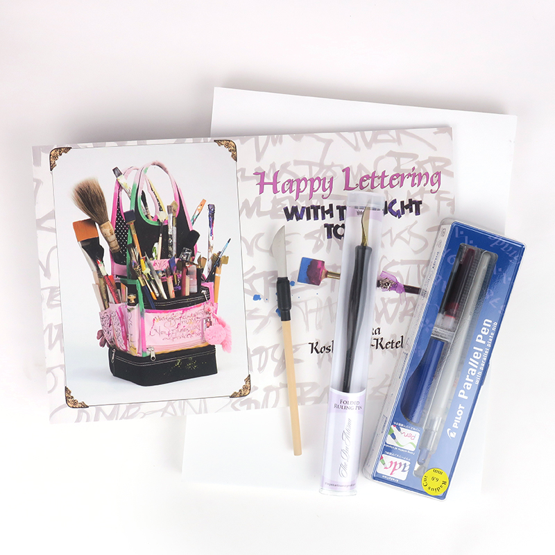 Folded Pen Lettering Kit