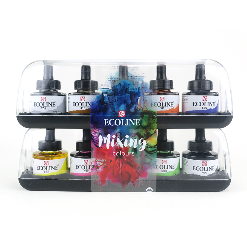 Ecoline Liquid Watercolor Set of 10