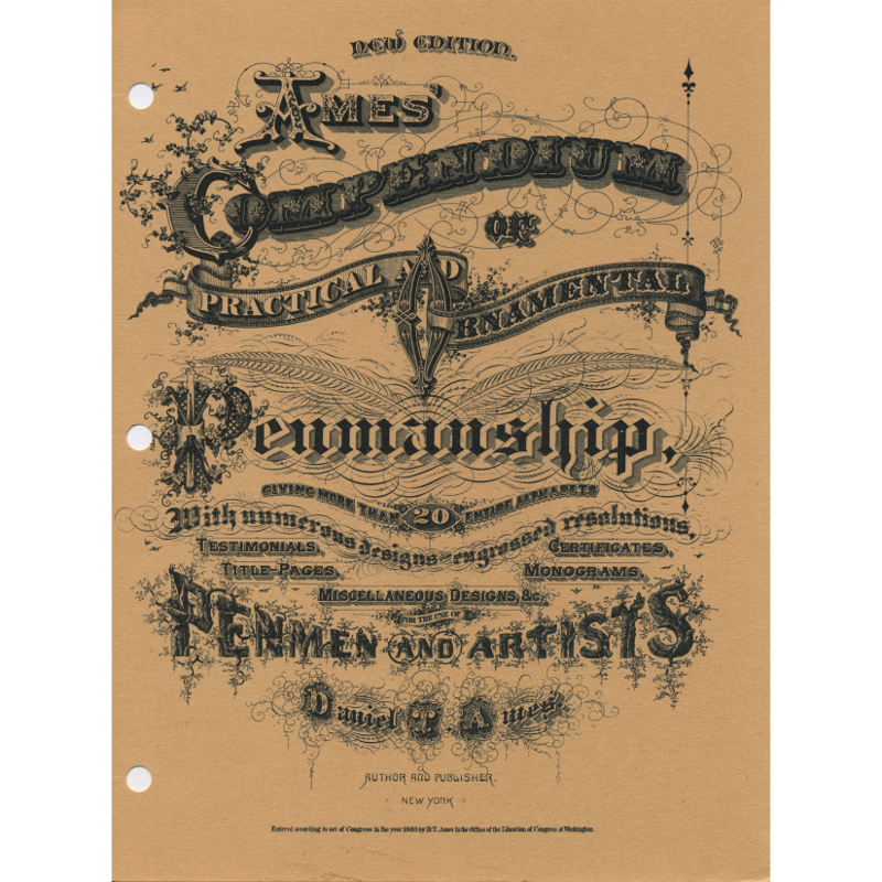 Ames Compendium of Practical Penmanship
