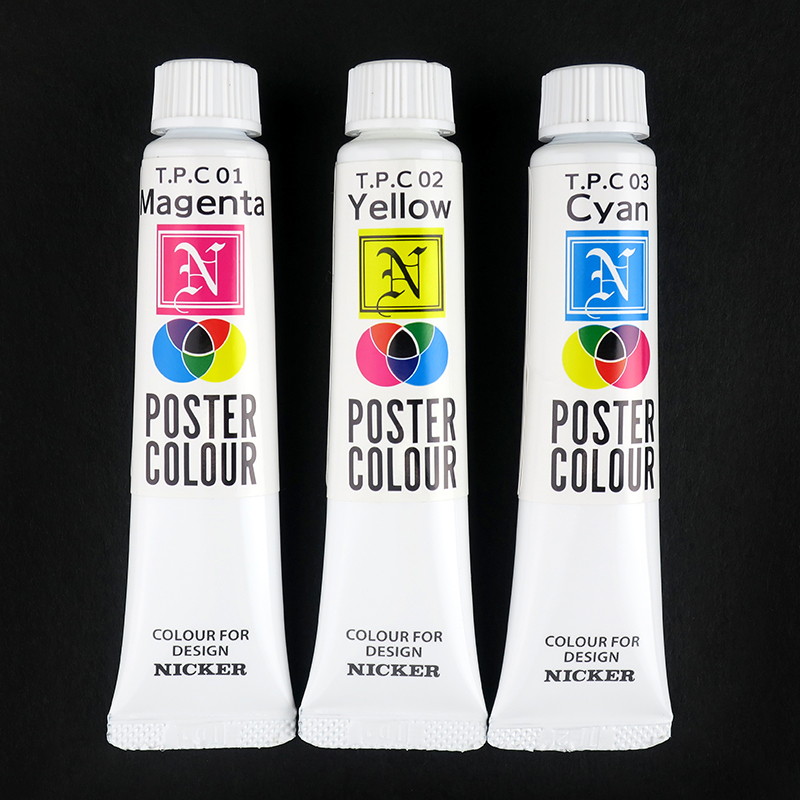 Nicker Poster Colour Primary Set