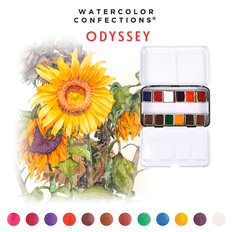 Watercolor Confections: Odyssey