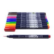 Tombow Fudenosuke Hard Tip Brush Pen Colors