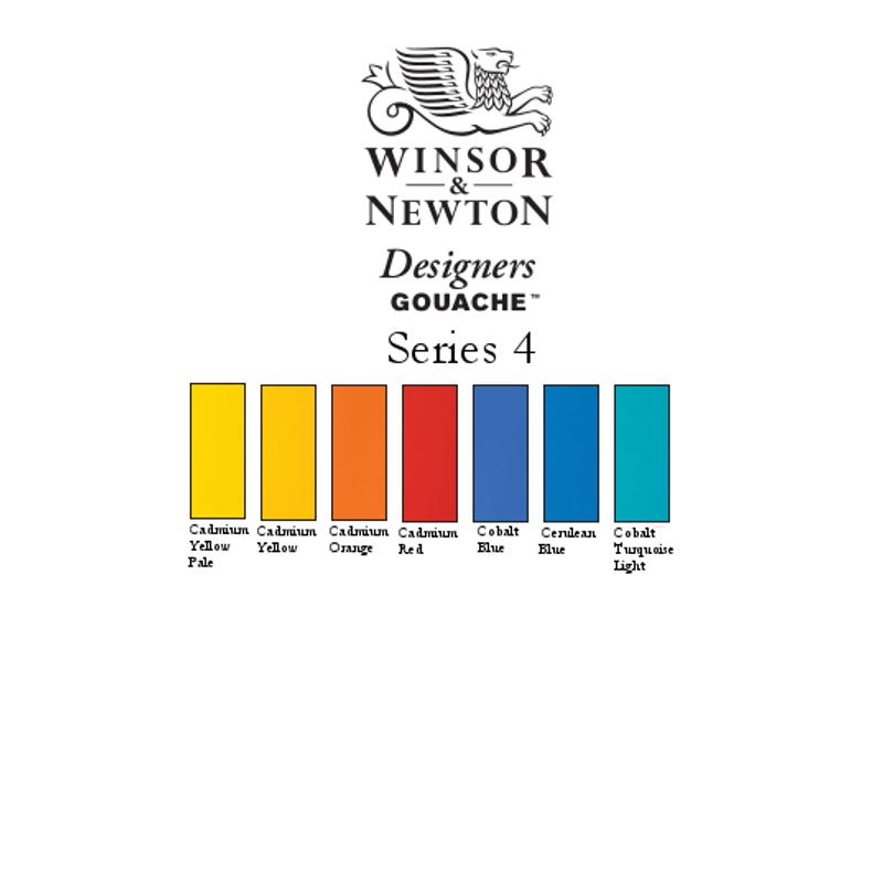 W&N Gouache Series 4