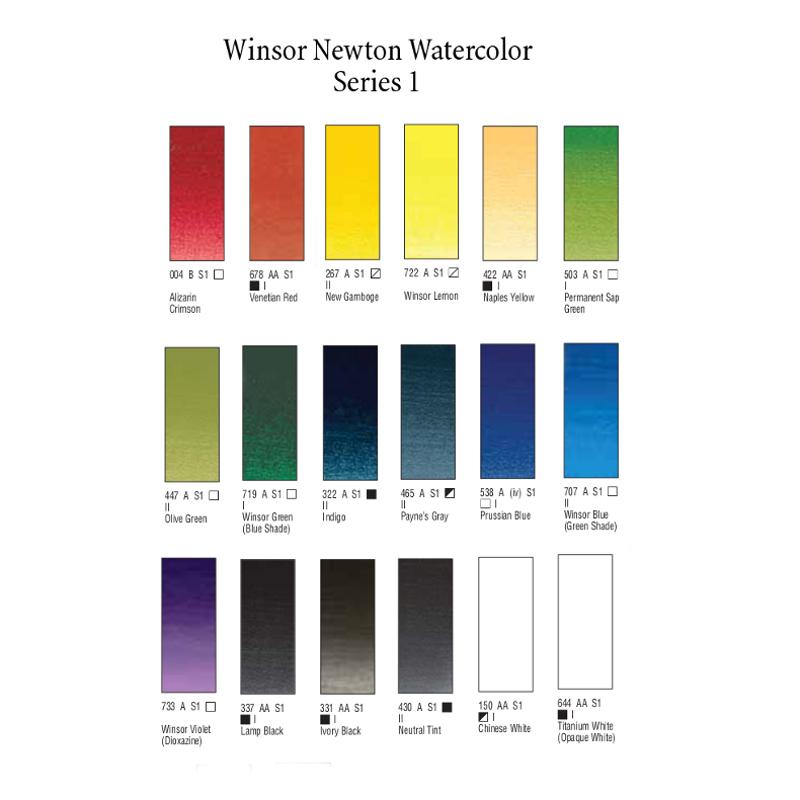 W&N Watercolor Series 1