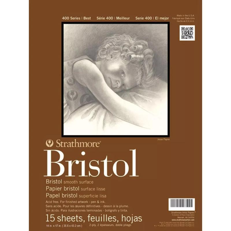 Strathmore Smooth Bristol Pad