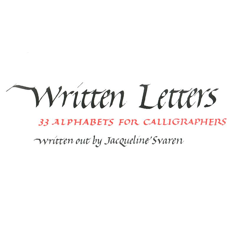 Written Letters / Svaren