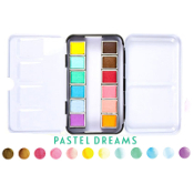 Watercolor Confections: Pastel Dreams