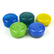 Recycled Glass Button Seals