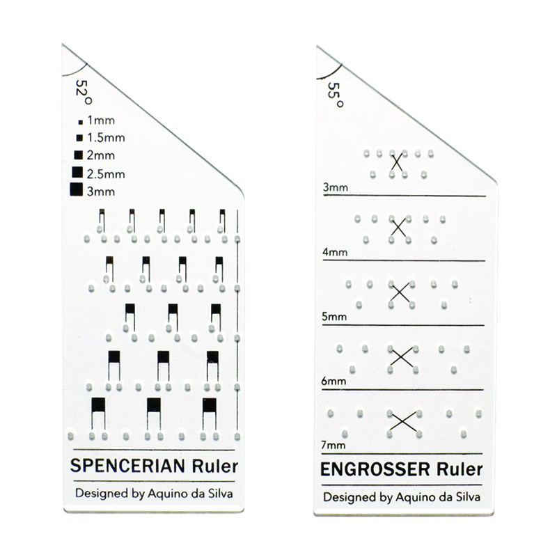 AB Calligraphy Ruler