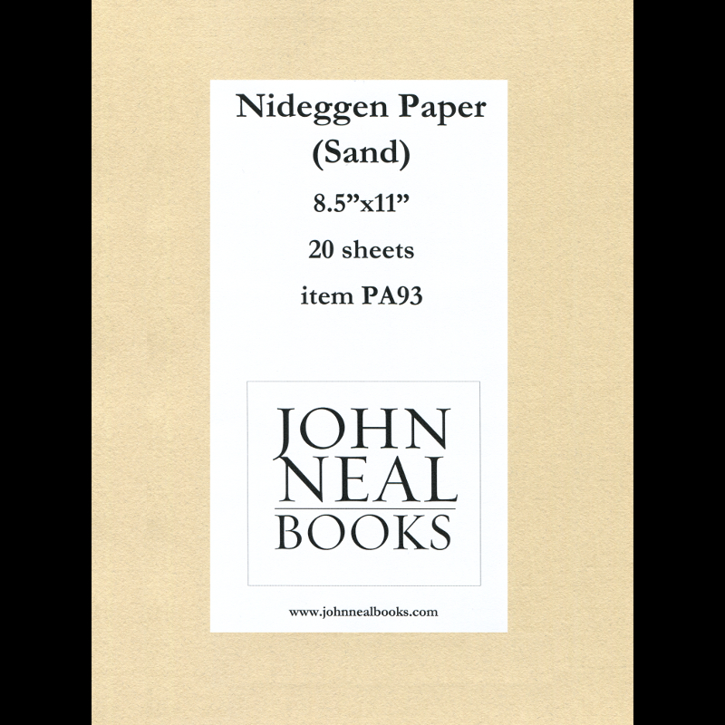 Nidiggen Sand Paper 8.5x11 inch, 20 sheets