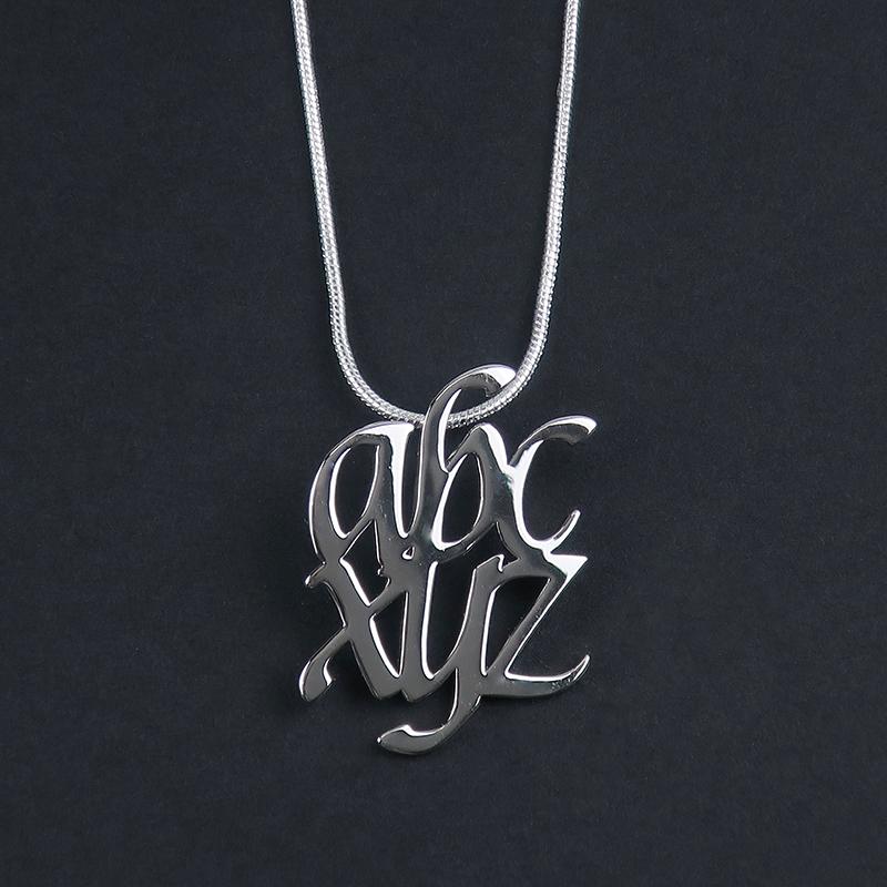 ABC-XYZ Pendant