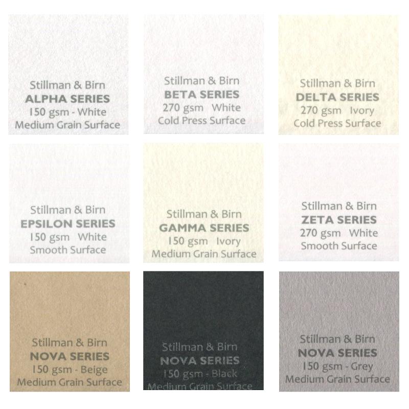 Stillman & Birn Paper 8.5x11 Pack