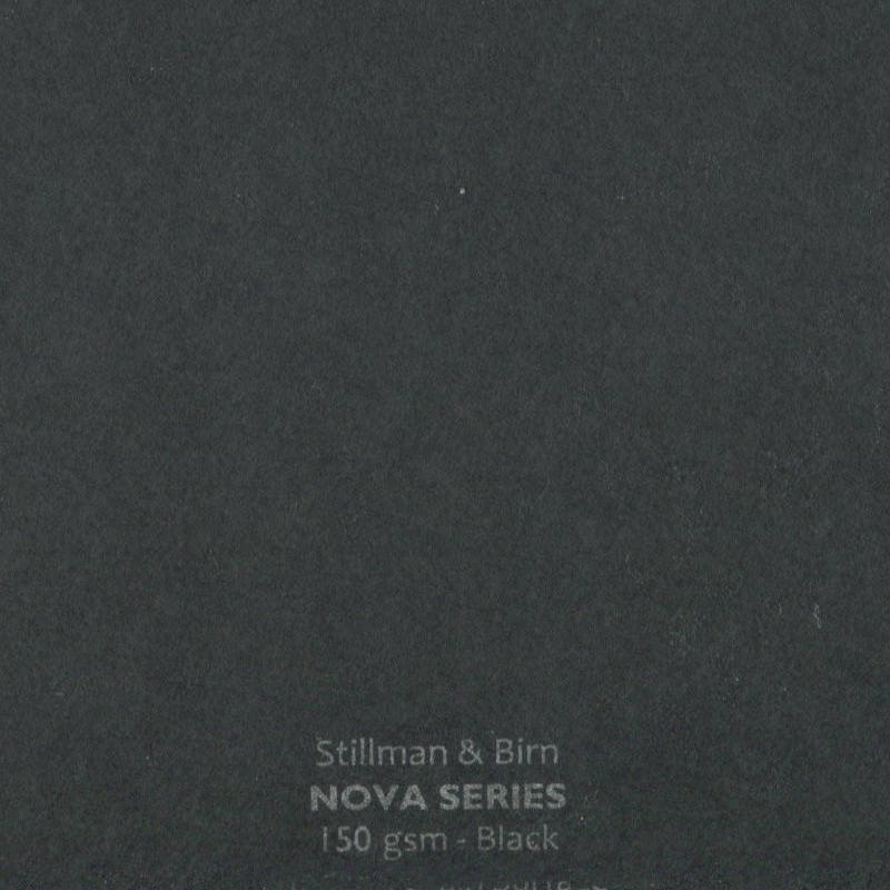 Stillman & Birns Black Paper 5x7inch (10 sheets)