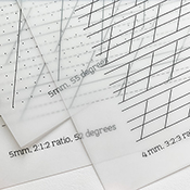 Pointed Pen Guideline Sheets