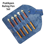 Pratikpen-R (Ruling Pen) Set