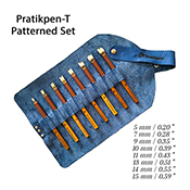 Pratikpen-T Patterned Set