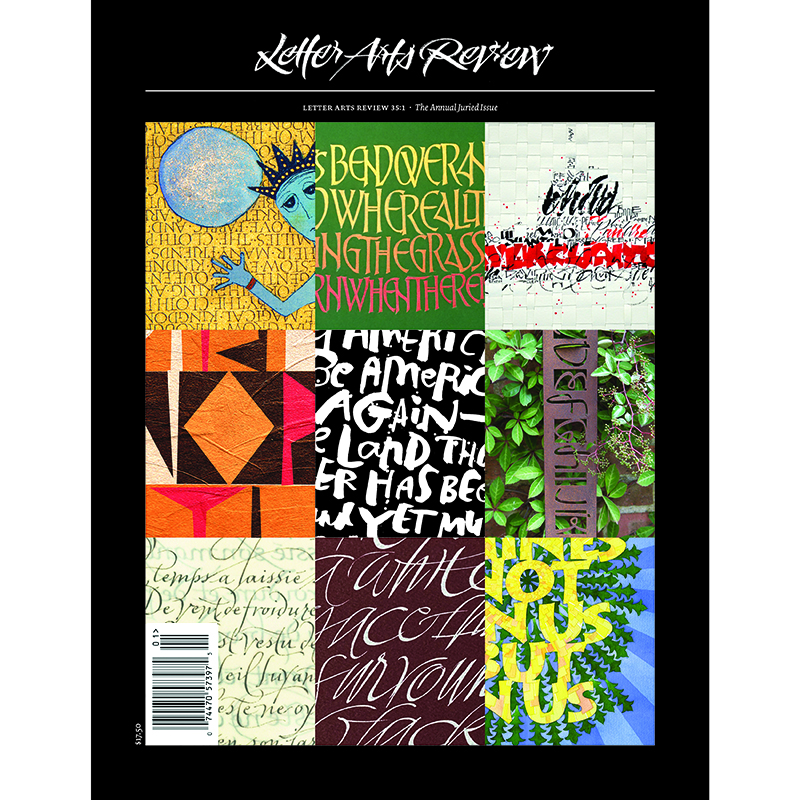 Letter Arts Review Vol.35, No. 1 (Annual Issue)