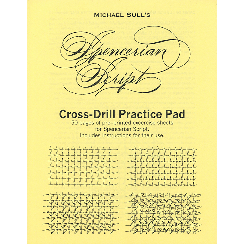 Cross Drill Pad (Spencerian)