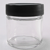 Glass 1oz Ink Jar