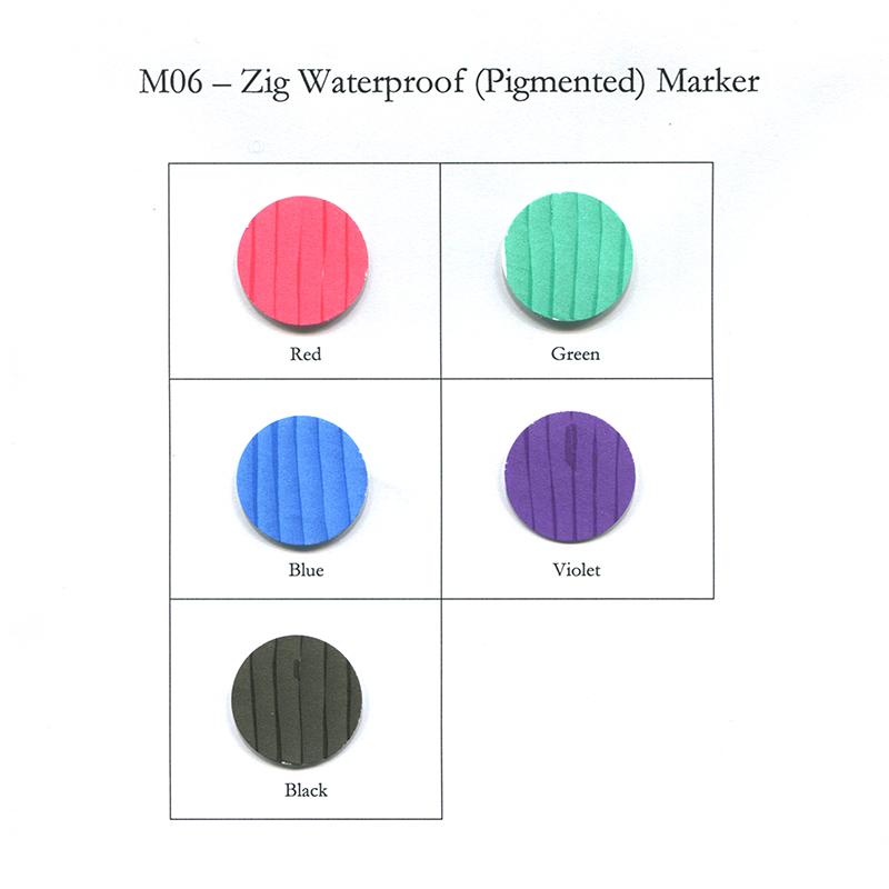 Zig Waterproof (Pigmented) Marker