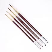 Escoda Brush Set (sizes 0,1,2,4)
