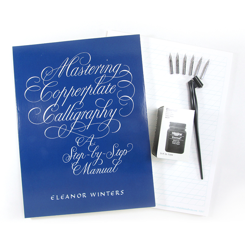Copperplate Kit: Basic with Book
