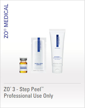 ZO Peels - ZO 3 - Step Peel Professional Use Only