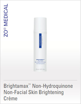 ZO Treatment - Brightamax Non-Hydroquinone Non-Facial Skin Brightening Creme