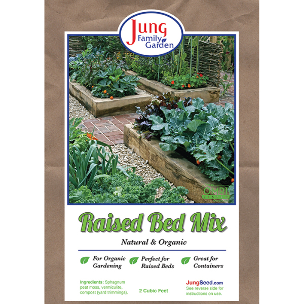 Jung Family Garden Raised Bed Mix, Soil Mixes: Jung Seed