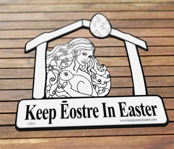 Keep Eostre in Easter slideshow