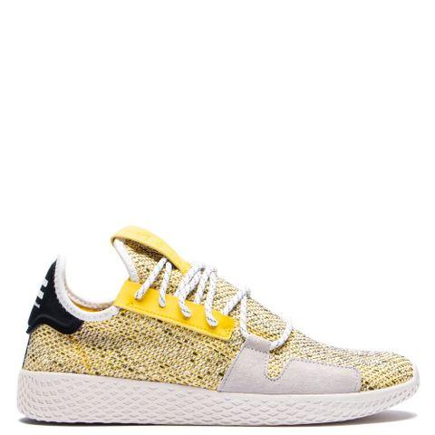 8257d5a21fce2 adidas Originals by Pharrell Williams SOLARHU Tennis V2   Yellow