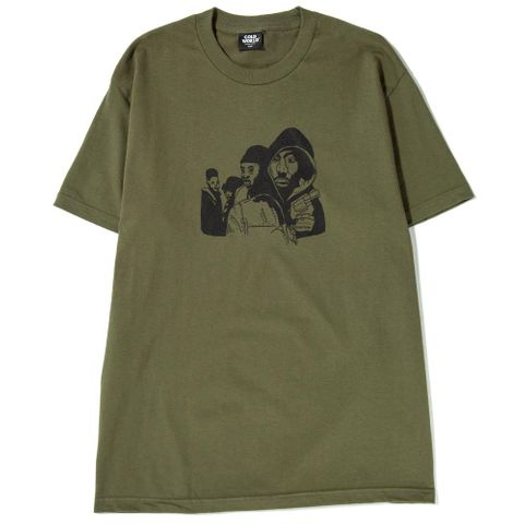ba6af03f Cold World Frozen Goods Juice T-shirt / Military Green