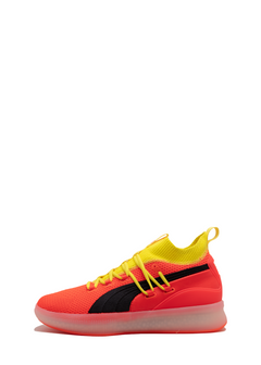 detailed look f294e 9dc2a PUMA  CLYDE COURT  RED BLAST