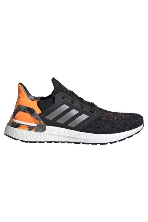 Ultraboost 20 Shoes - Black/Grey/Signal Orange | Men's