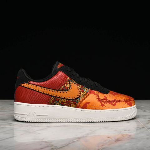 purchase cheap f63d6 d9b7a AIR FORCE 1 07 PRM 3 - GYM RED   ORANGE PEEL   BLACK