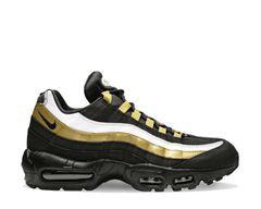 detailed look 624ab 4e993 Nike Air Max 95 OG Black Metallic Gold