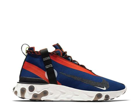 Nike React Running Mid Wr ISPA Blue Void
