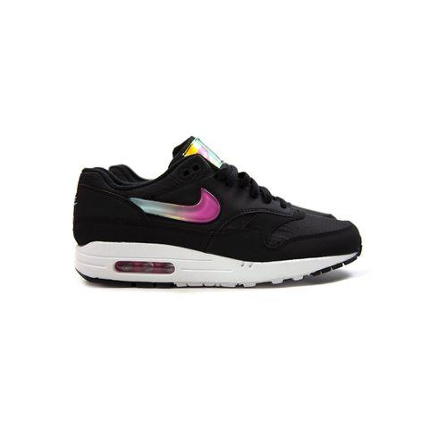 online store 2b315 3f053 Nike Air Max 1 SE (Black Blue Gaze-Active Fuchsia) AO1021-