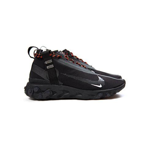 Nike React Mid WR ISPA (Black/White-Anthracite-Total Crimson) AT3143-001