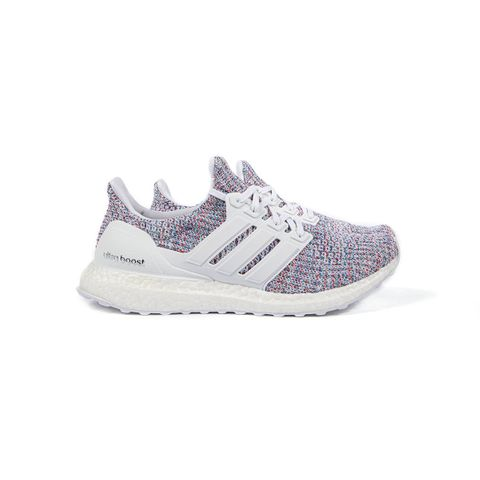 adidas Women's UltraBOOST (White/White/Act Red)